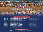 Lucas Oil Pro Motocross Championship Schedule for 2017