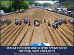 Spring Creek National Pro Motocross Highlights