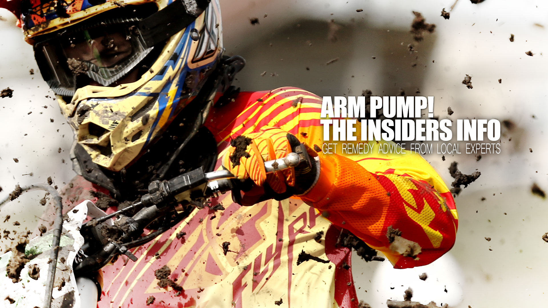 The Insiders Info: Arm Pump - Remedies from Local Dudes