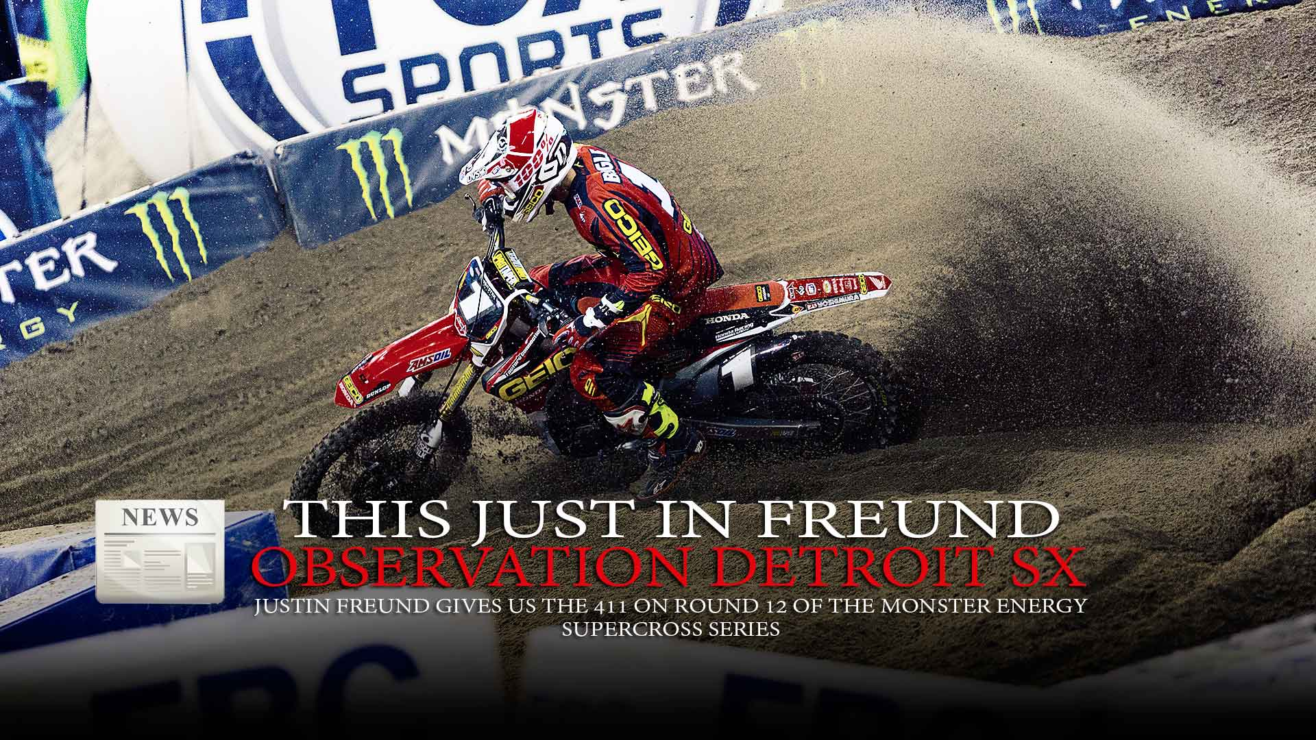 This Just In Freund: Observation Detroit Supercross
