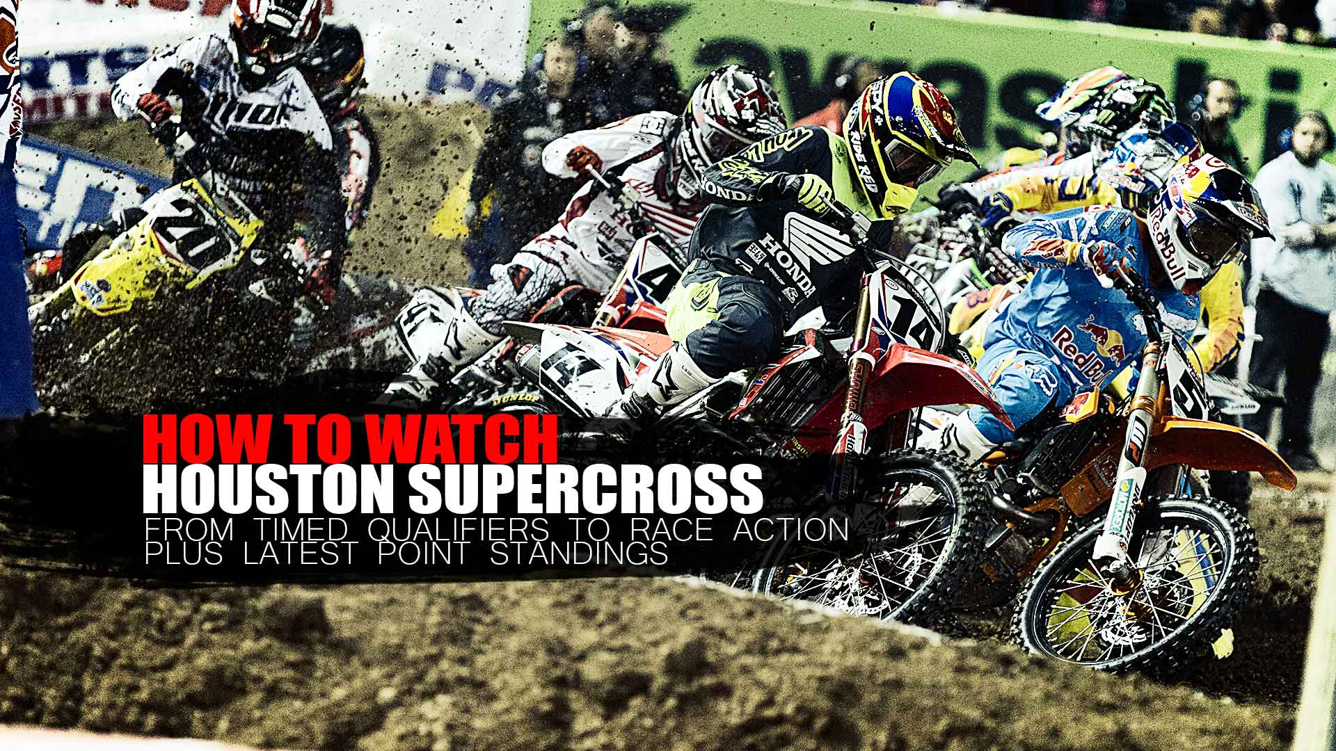 How to Watch Houston Supercross Round 14