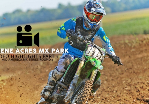 Green Acres MX Highlights MAMS Round 4 Part 1