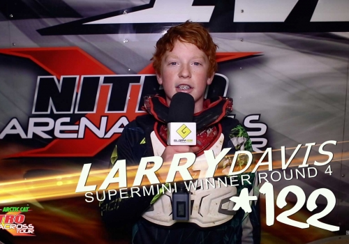 Nitro Arenacross Tour: Supermini | ft. Larry Davis | Du Quoin RD4