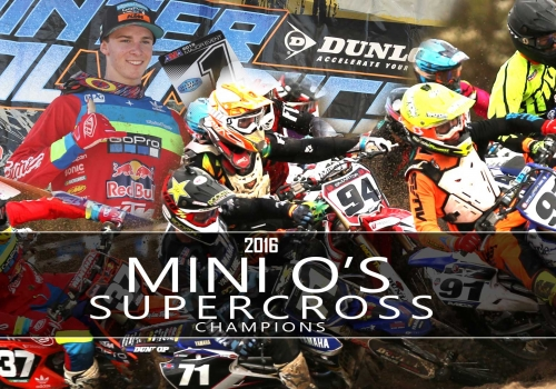 2016 Mini O's Supercross Champions - Glory Hog Media
