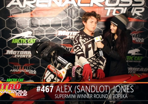 Nitro AX Tour Rider Spotlight: Alex Jones Supermini Topeka Arenacross