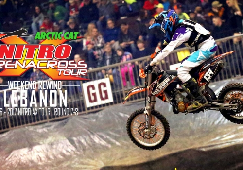 Nitro Arenacross Tour Lebanon Weekend Rewind Round 8 - Glory Hog Media