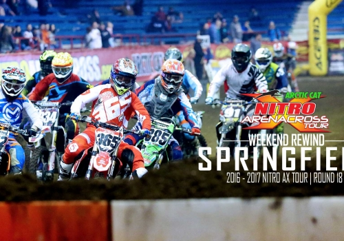 Nitro Arenacross Tour Springfield | Weekend Rewind | 2017