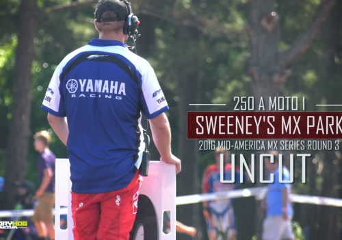 UNCUT: First Moto Ever at Sweeney's MX | 250A Mid-America MX Series - Glory Hog Media