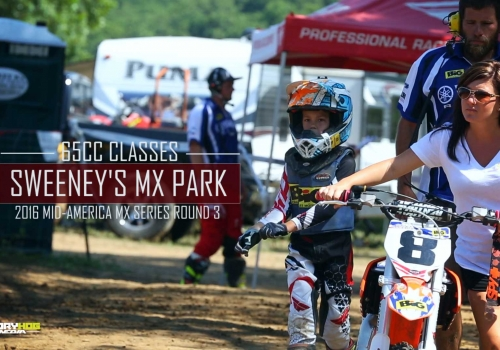 2016 Mid-America Motocross Series Sweeney's MX 65cc Classes - Glory Hog Media
