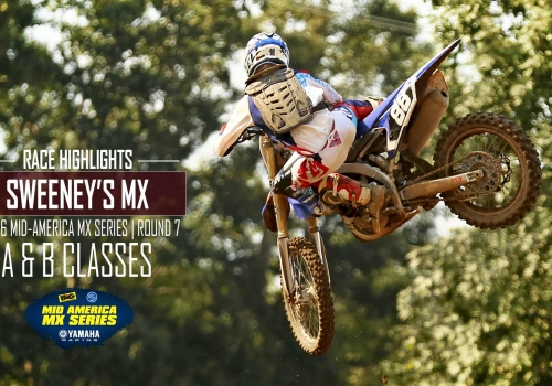 Sweeney's MX Mid-America Motocross Series RD7 A-B Classes