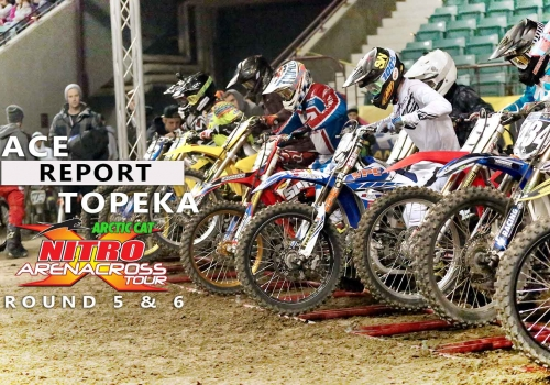 Race Report: Kevin Moranz Wins First Race in Pro Debut at the Nitro Arenacross Tour in Topeka, KS