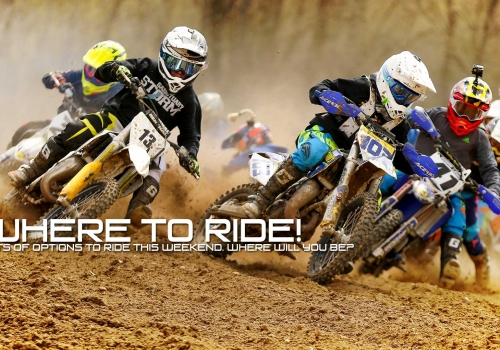 Where to Ride This Weekend: Get out and ride!