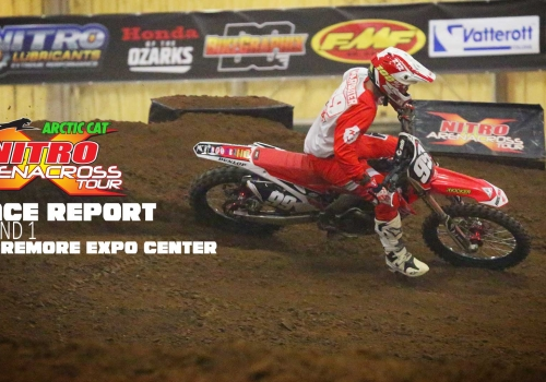 Race Report: Arctic Cat Nitro Arenacross Tour Round 1 Claremore