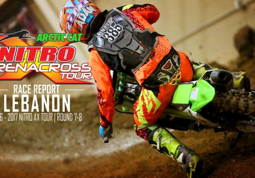 Race Report: Gulley Boys Hold off Tanner Young for Nitro Arenacross Wins at Lebanon, MO