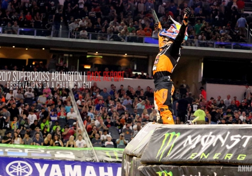 Race Report: Musquin Wins First Career 450SX on a Wacky Night in Arlington