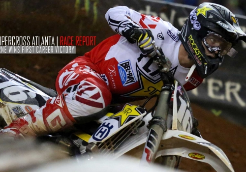 Race Report: Zach Osborne Wins First Career Victory in Atlanta