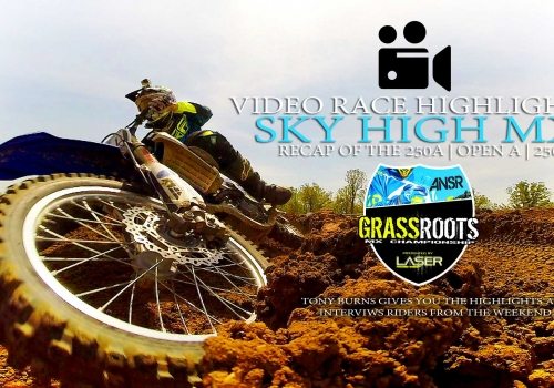 HIGHLIGHTS: Sky High MX | Grassroots MX 250A | Open A | 250B