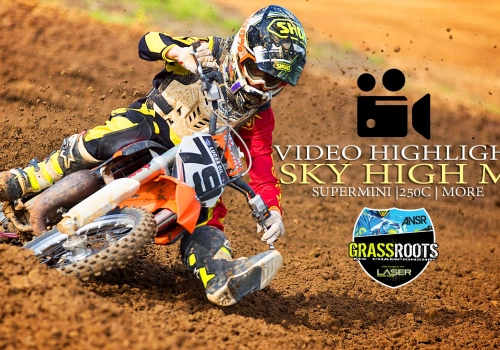 Race Highlights: Grassroots MX RD3 Sky High - Supermini | 250C