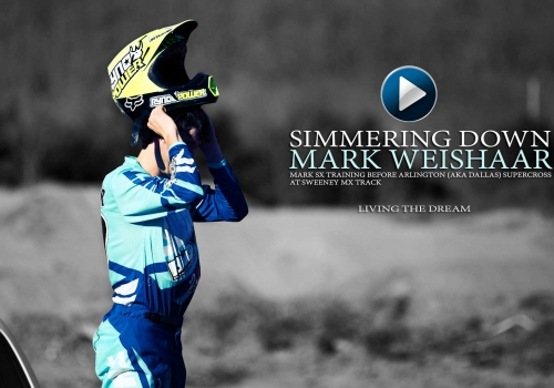 Living the Dream: Mark Weishaar Supercross Training 2015