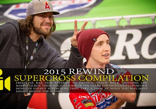 2015 Supercross Rewind Shenanagins Compilation