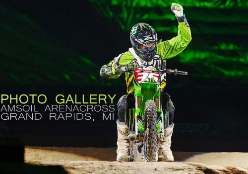 GALLERY: Grand Rapids Amsoil Arenacross Series